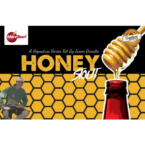 Honey Stout by Jason Breatt (Malt Extract Kit)