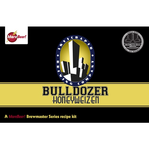 Skyscrapers Bulldozer Honeyweizen® - All Grain Beer Brewing Kit (5 Gallons)