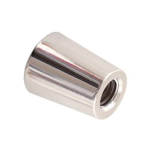 Beer Tap Handle Ferrule - Silver