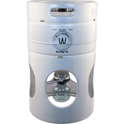 Williams Warn BrewKeg25 - 25 L (6.6 Gallon) Conical Unitank Fermenter