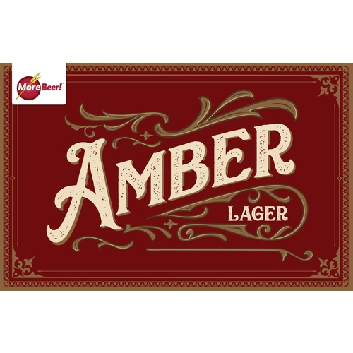 Amber Lager - Extract Beer Brewing Kit (5 Gallons)