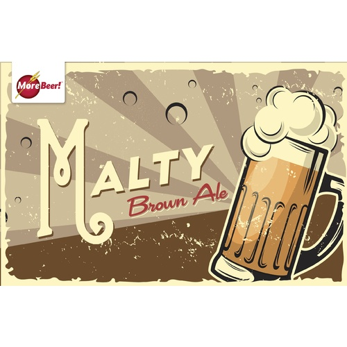 Malty Brown Ale - Extract Beer Brewing Kit (5 Gallons)