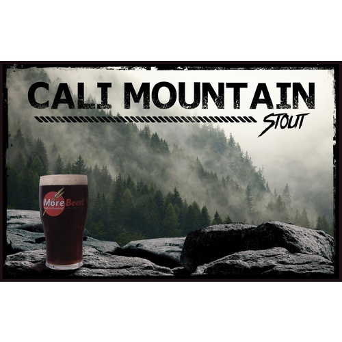 Sierra Nevada Stout Clone - Cali Mountain Stout (All Grain)