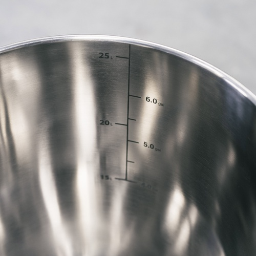 SS Brew Bucket - Stainless Steel Fermenter - 7 gal.