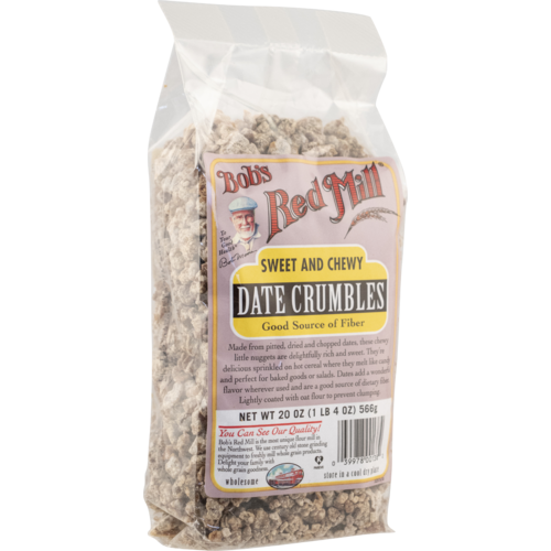 Dried Date Crumbles - 20 oz