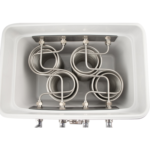 Komos™ Stainless Steel Draft Box (4 Tap)