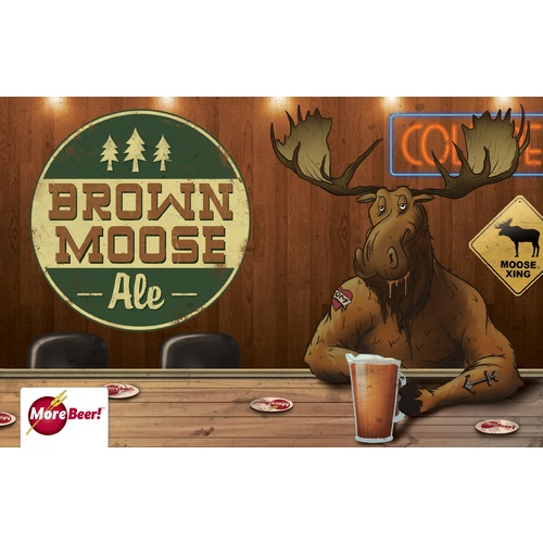 Moose Drool® Clone - Brown Moose Ale (All Grain)