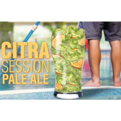 Citra® Session Pale Ale - All Grain Beer Brewing Kit (5 Gallons)