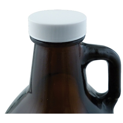 Plastic Screw Cap (38 mm) - For Growlers, Gallon and 1/2 Gallon Jugs