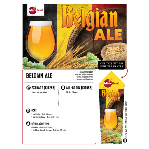 Belgian Ale - All Grain Beer Brewing Kit (5 Gallons)