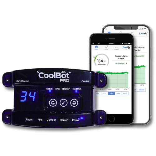CoolBot Pro Walk-In Cooler Controller (WiFi Enabled)