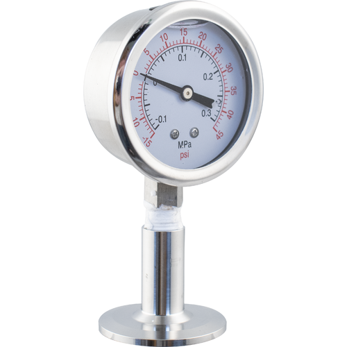 MoreBeer! Pro Tank Replacement Part - Pressure Gauge 1.5