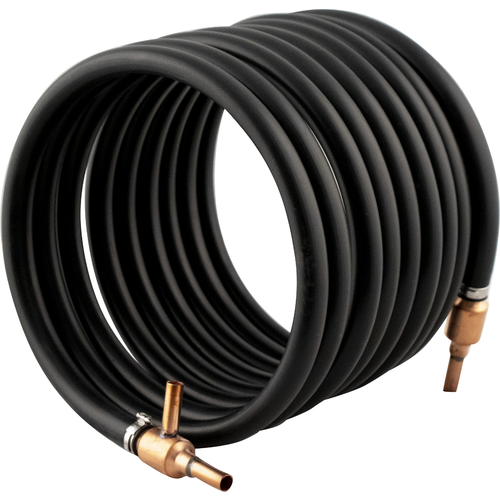 Wort Chiller - Copper Counterflow Chiller (with 3/8 in. Barbs)