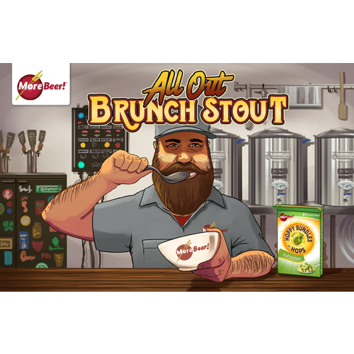 Breakfast Stout® Clone - All Out Brunch Stout (Extract)