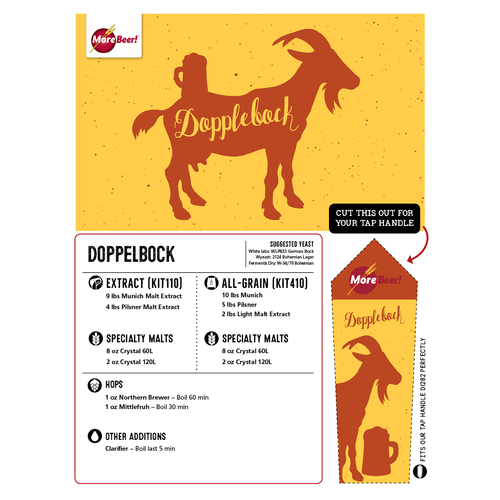 Doppelbock - Extract Beer Brewing Kit (5 Gallons)