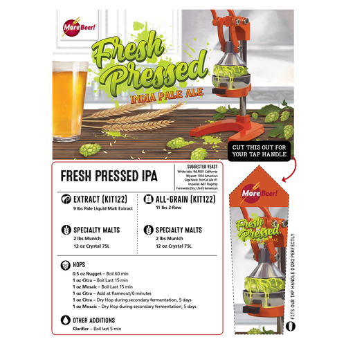 Fresh Squeezed IPA® Clone - Fresh Pressed IPA (Extract)
