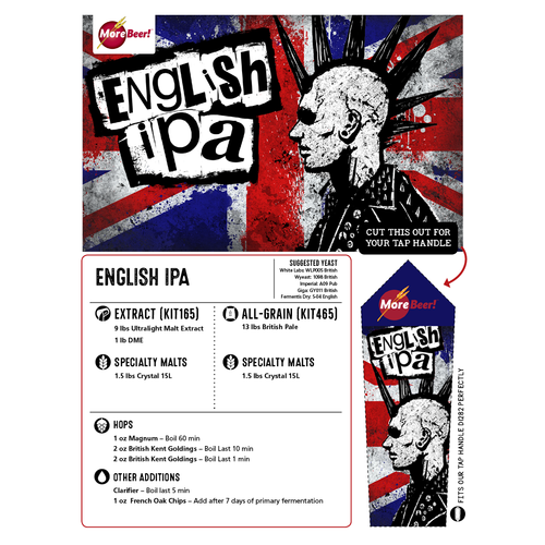 Kit (All-Grain) - English IPA (5 Gallons)