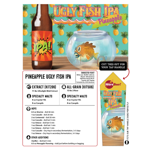 Pineapple Sculpin® Clone - Pineapple Ugly Fish (All Grain)