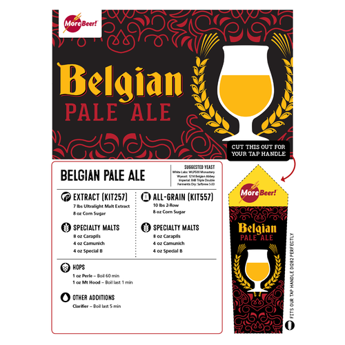 Belgian Pale Ale - Extract Beer Brewing Kit (5 Gallons)