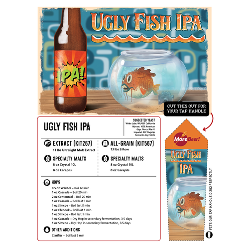 Sculpin® IPA Clone - Ugly Fish (Extract)