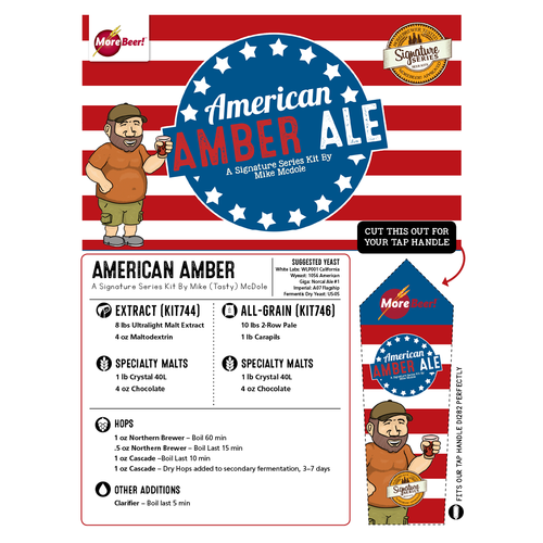 American Amber Ale by Mike