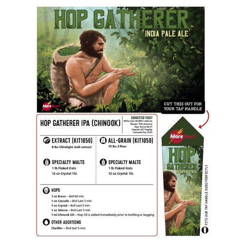 Hop Hunter® Clone - Hop Gatherer IPA (Chinook - Extract)