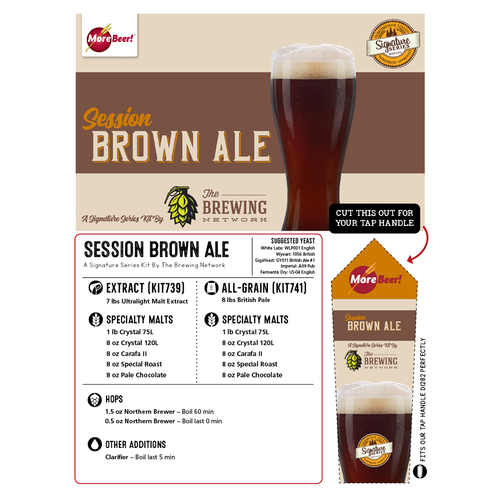 Brown Ale by The Brewing Network (All Grain Kit)