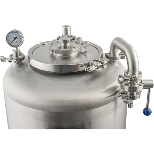 MoreBeer! Pro Conical Fermenter - 2 bbl (Jacketed)