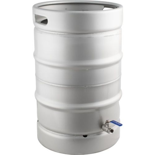 Keggle Homebrew Kettle - Converted Stainless Keg (15.3 gal)