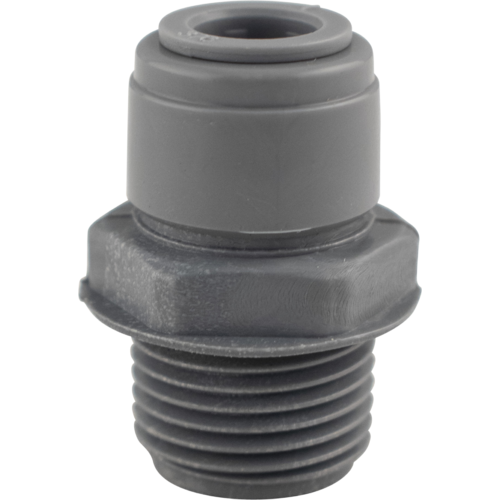Duotight Push-In Fitting - 9.5 mm (3/8 in.) x 1/2 in. MPT