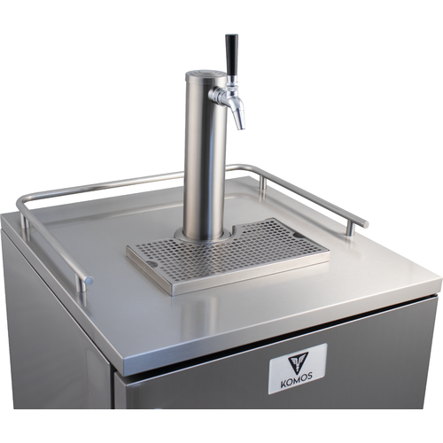 KOMOS™ Commercial Kegerator with Stainless Steel Intertap Faucets