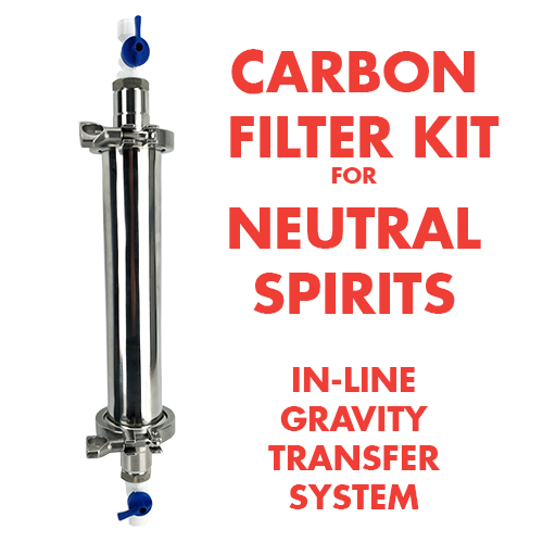 Activated Carbon Filter Kit - In-Line Style