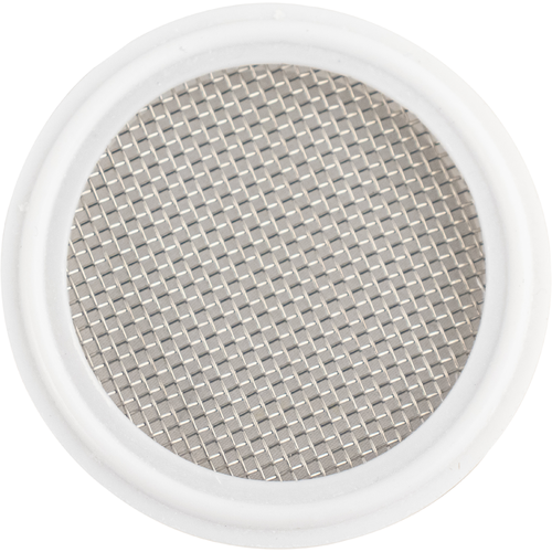 Tri-Clamp Gasket with Mesh Screen (Teflon) - 2 in.