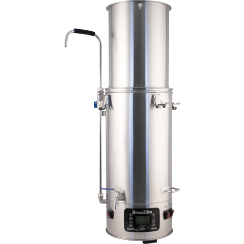 BrewZilla All Grain Brewing System With Pump - 35L/9.25G (110V)