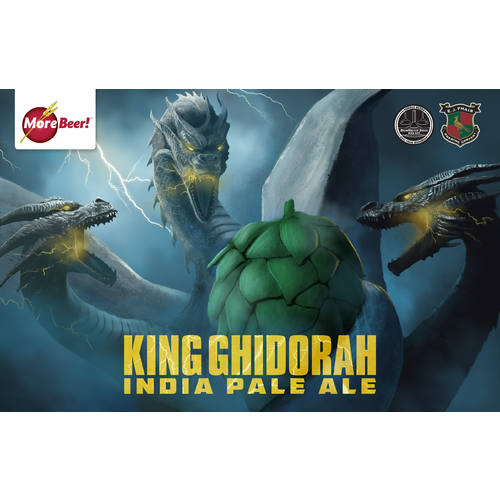 E.J. Phairs King Ghidorah IPA - Extract Beer Brewing Kit (5 Gallons)
