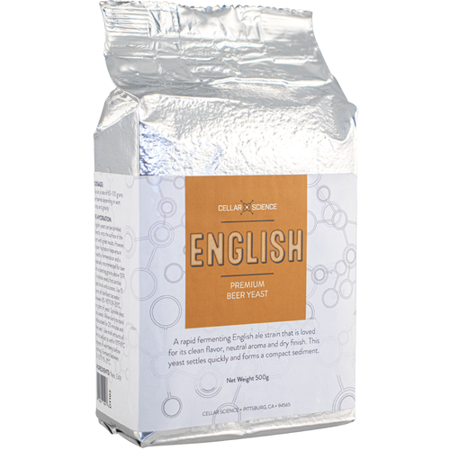 CellarScience™ ENGLISH Dry Yeast (500 g)