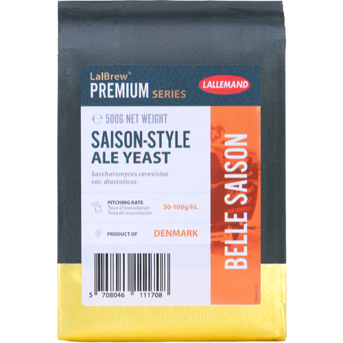 LalBrew® Belle Saison Belgian Style Ale Yeast - Lallemand
