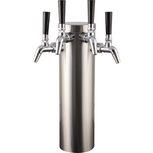 KOMOS® Stainless Draft Tower With Intertap Faucets (w/ Duotight Fittings)