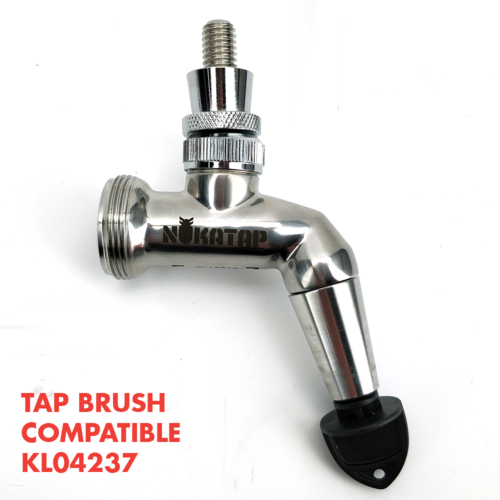 NukaTap Stainless Steel Beer Faucet - Stealth Bomber