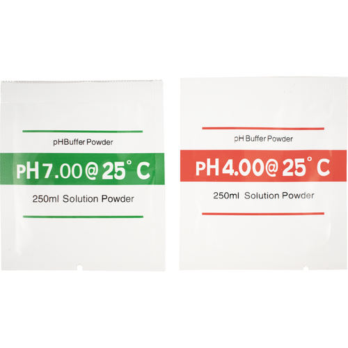 pH Buffer Solution Powder - 2 Pack (4.00/7.00)