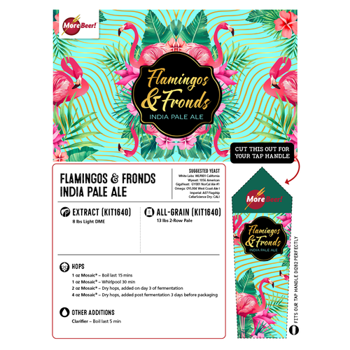 Mai Tai PA Clone - Flamingos & Fronds Mosaic® IPA (All Grain)