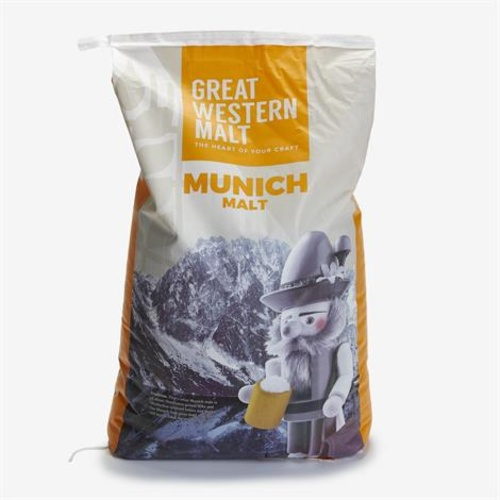 Great Western Malting Munich Malt (55 lb Sack)