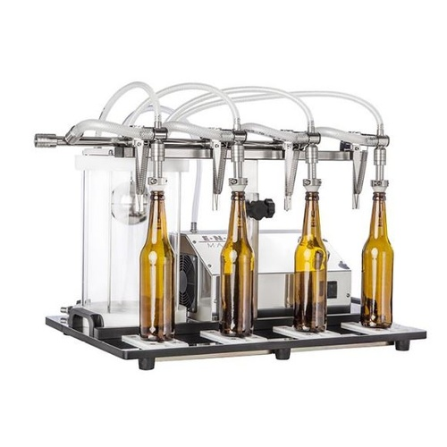 Enolmaster Wine Bottle Filler (Vacuum Filler) - 4 Spout