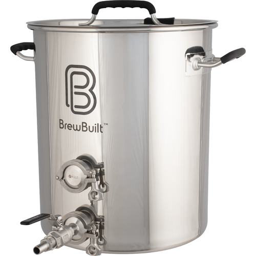 BrewBuilt™ Brewing Kettle - Ball Valve