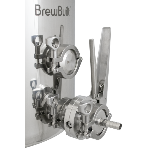 BrewBuilt™ Brewing Kettle - Butterfly Valve
