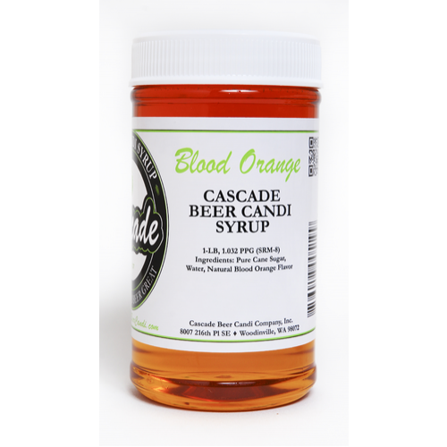 Blood Orange Candi Syrup - 1 lb.
