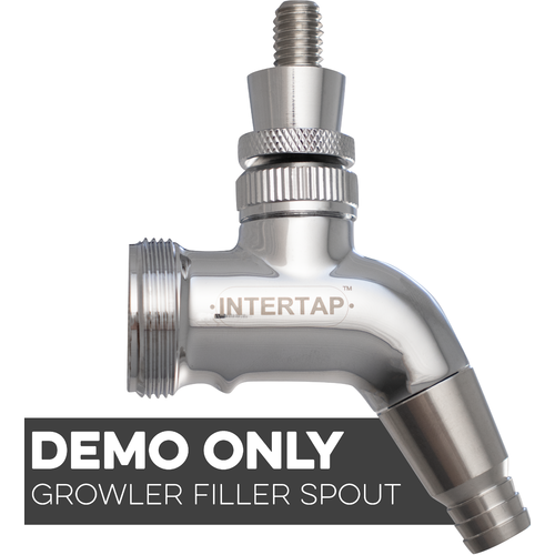 Intertap Beer Faucet - Stainless Steel