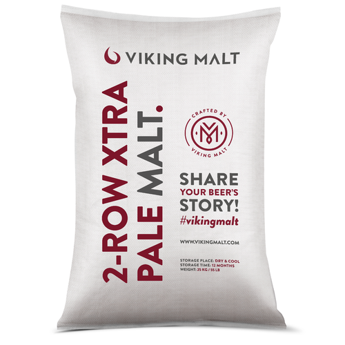 Malt - Viking Malt 2-Row Xtra Pale - 10 LB (2 x 5 LB)