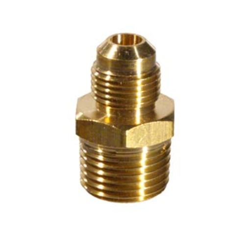 Gas Pipe Adapter - 1/2 in. MPT x 3/8 in. Male Flare