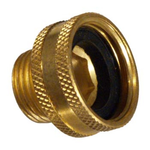 Brass Hose Fittings - Female Hose x 1/2 in. MPT